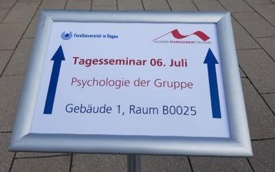 """Erfolgreiche Premiere unseres Management-Seminars """"Psychologie der Gruppe"""""""