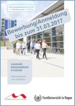 Hagener Management Studium - Informationen