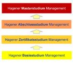 Stufenkonzept des Hagener Management Studiums